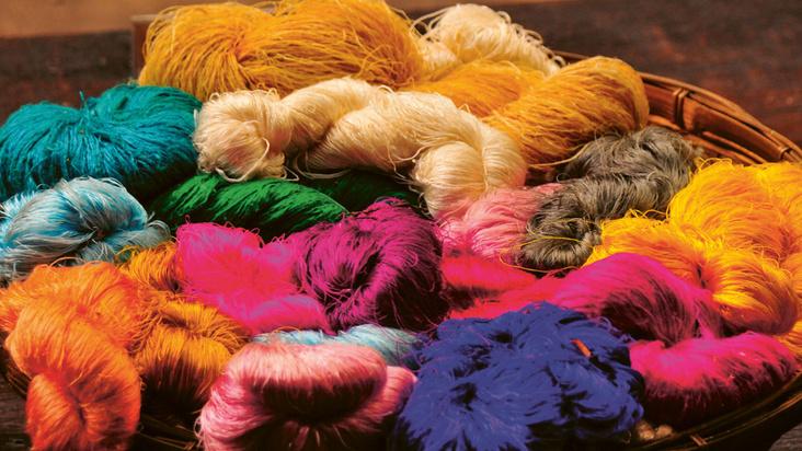 Färbe-Workshop