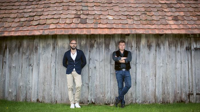 Volker Klüpfel und Michael Kobr