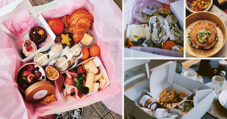 Lieferboxen Boxen mit Frühstück zum Abholen oder als Lieferung