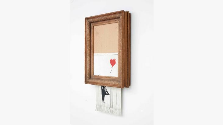 Banksy - Love is in the Bin