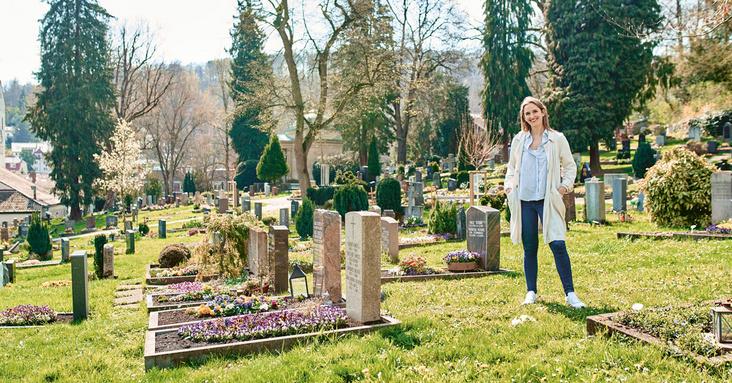 LIFT im Mai: Vor Ort mit Spitzenköchin Caroline Autenrieth auf dem Heslacher Friedhof