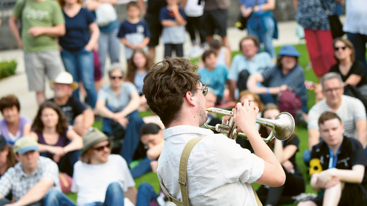 Internationales Straßenmusikfestival @Home