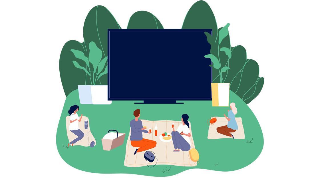 Open-Air-Kinos in und im Stuttgart