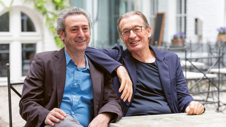 Wolfgang Schorlau und Claudio Caiolo