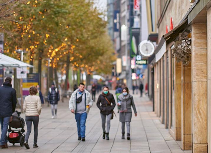 Neue Shops auf der Königstraße