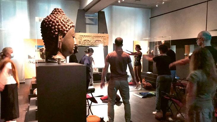 Meditation im Museum
