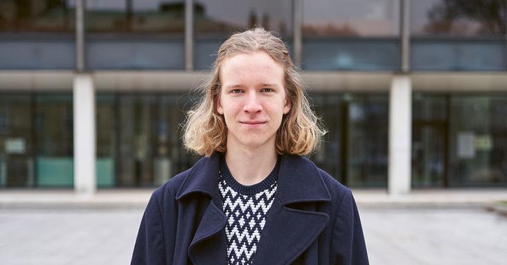 Porträt Jonathan Heckert von der Klimaliste BW