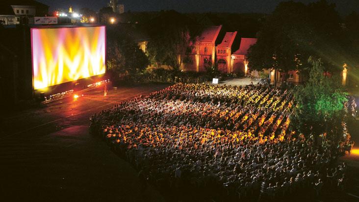 Sommernachts Open-Air-Kino