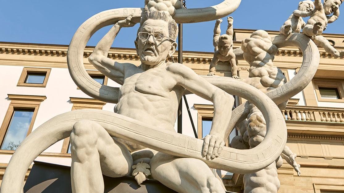 Der Streit ums Lenk-Denkmal