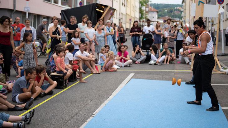 Interkulturelles Labyrinth Sommerfest